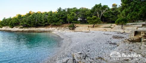 Croatia - Istra -  Pula - Beach Gortanova uvala