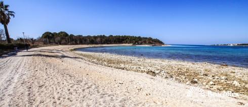 Croatia - Lika - Island Pag -  Novalja - Beach Vrtić