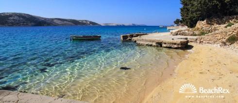 Croatia - Lika - Island Pag -  Stara Novalja - Beach Blue Bay