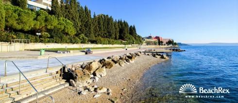 Slovenia - Obalno kraška -  Portorož - Beach Bernardin