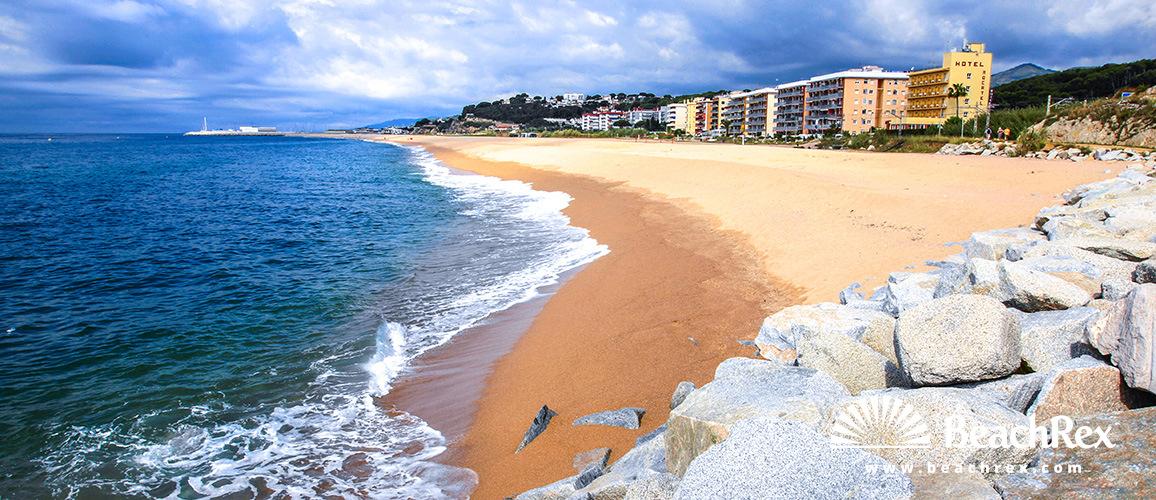Spain - Àmbit metropolità -  Canet de Mar - Beach Canet de Mar