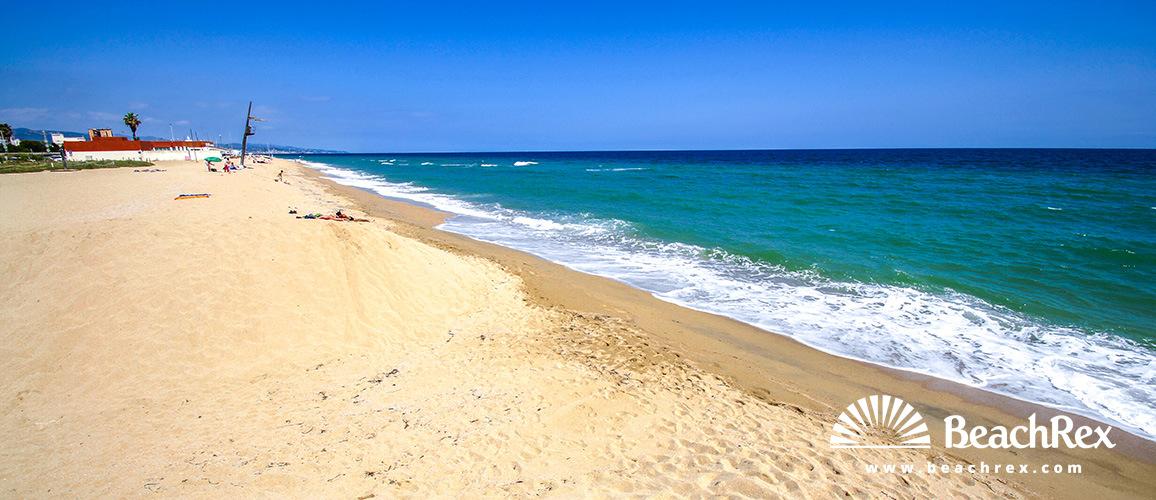Spain - Àmbit metropolità -  Vilassar de Mar - Beach de l'Almadrava