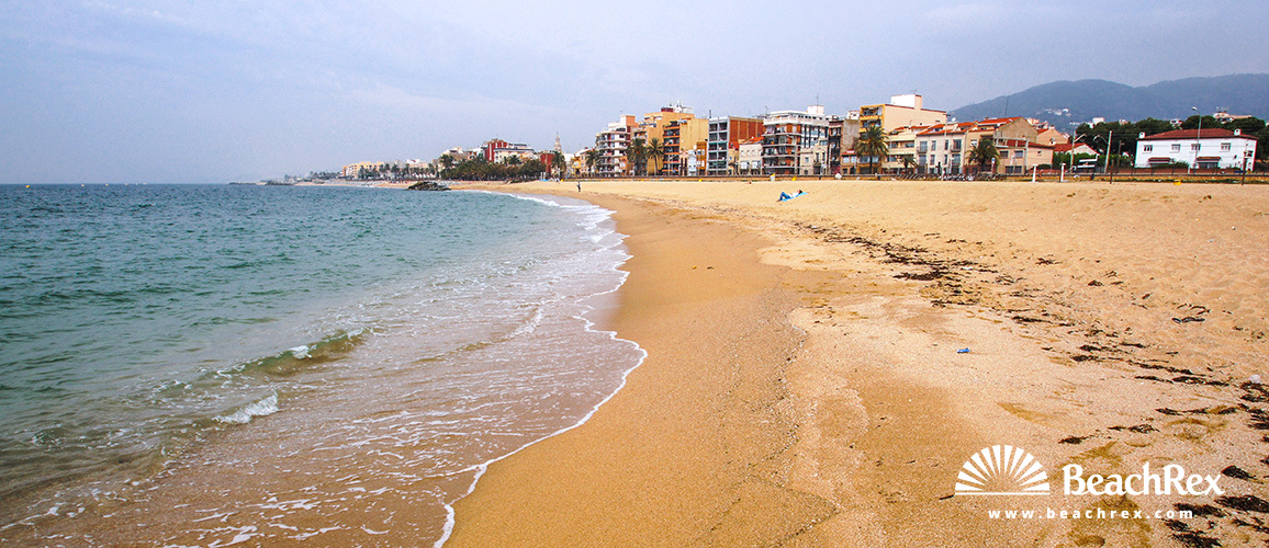 Spain - Àmbit metropolità -  Premià de Mar - Beach del Bellamar