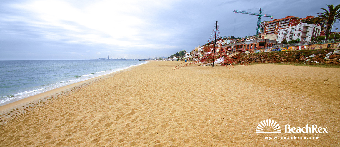 La playa de Montgat, el paraíso