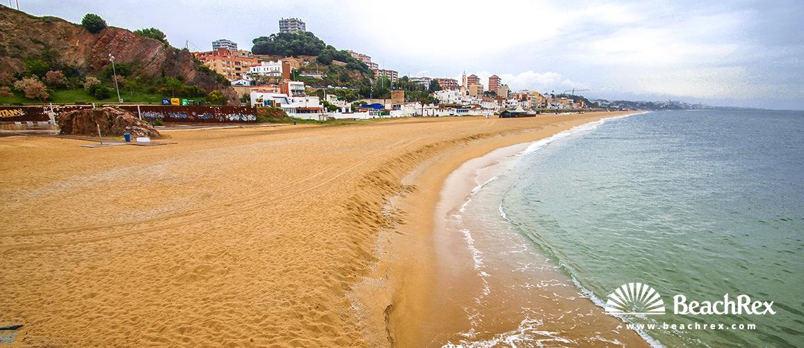 Spain - Àmbit metropolità -  Montgat - Beach de Montgat Nord