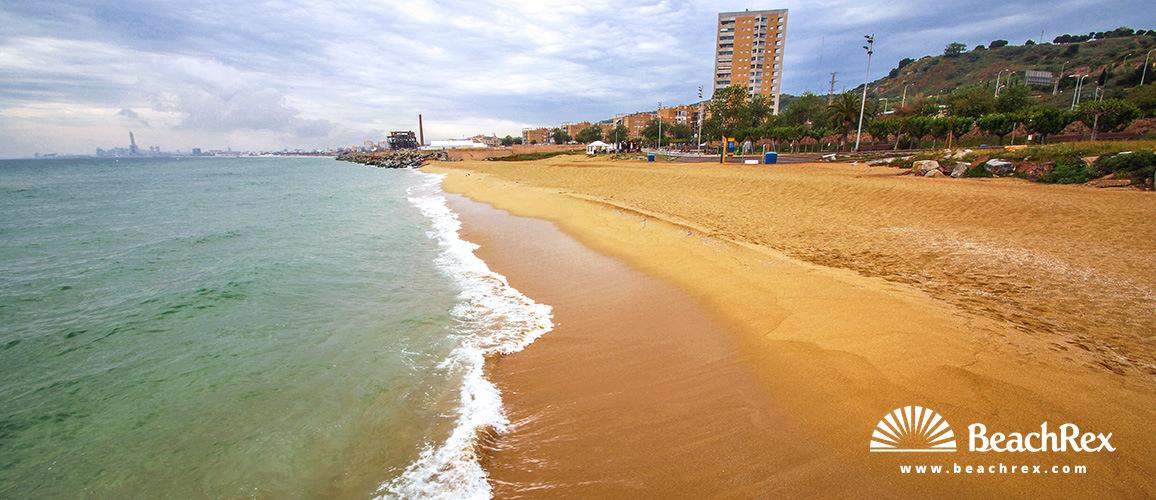 Spain - Àmbit metropolità -  Montgat - Beach de les Moreres
