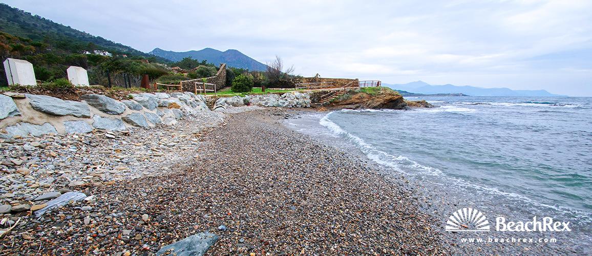 Spain - Comarques gironines -  El Port de la Selva - Beach l'Arola