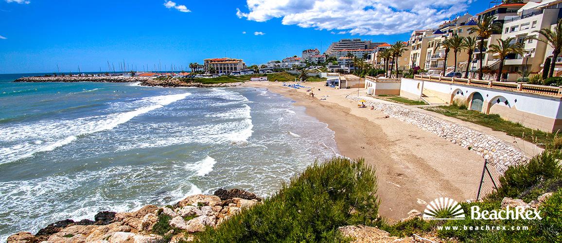 Spain - Àmbit metropolità -  Sitges - Beach Aiguadolc