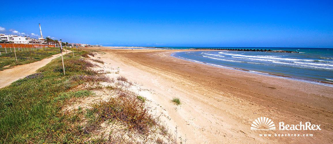 Spain - Camp de Tarragona -  Cunit - Beach de Cunit