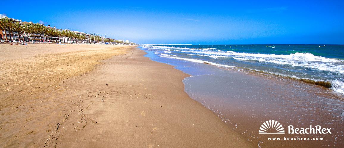 Spain - Camp de Tarragona -  Calafell - Beach Calafell