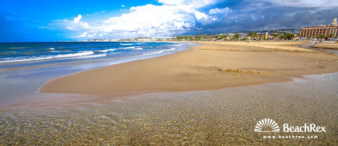 Spain - Camp de Tarragona -  El Vendrell - Beach Coma-ruga