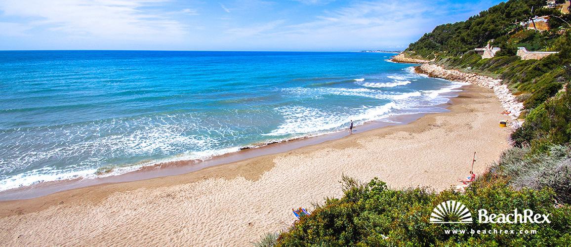 Spain - Camp de Tarragona -  Roda de Berà - Beach Punta de Guineus