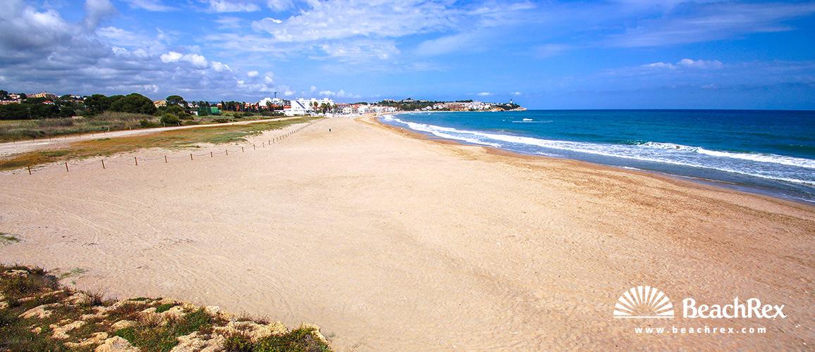 Spain - Camp de Tarragona -  Altafulla - Beach d'Altafulla