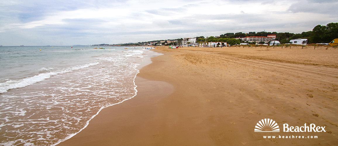 Spain - Camp de Tarragona -  Tarragona - Beach Llarga