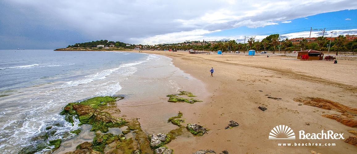 270d1588d1 Beach l Arrabassada - Tarragona - Camp de Tarragona - Spain ...