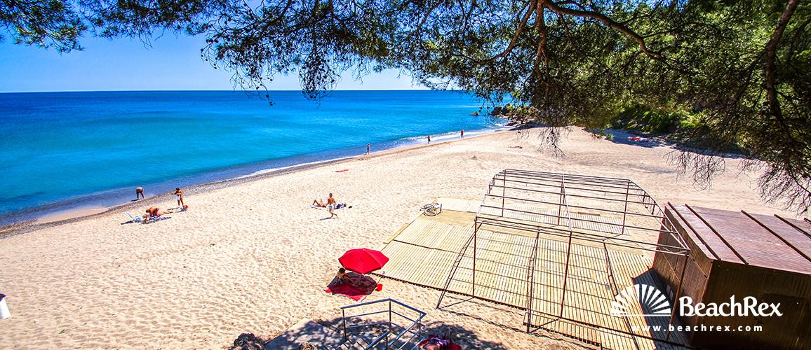Spain - Camp de Tarragona -  Miami platja - Beach Misteri