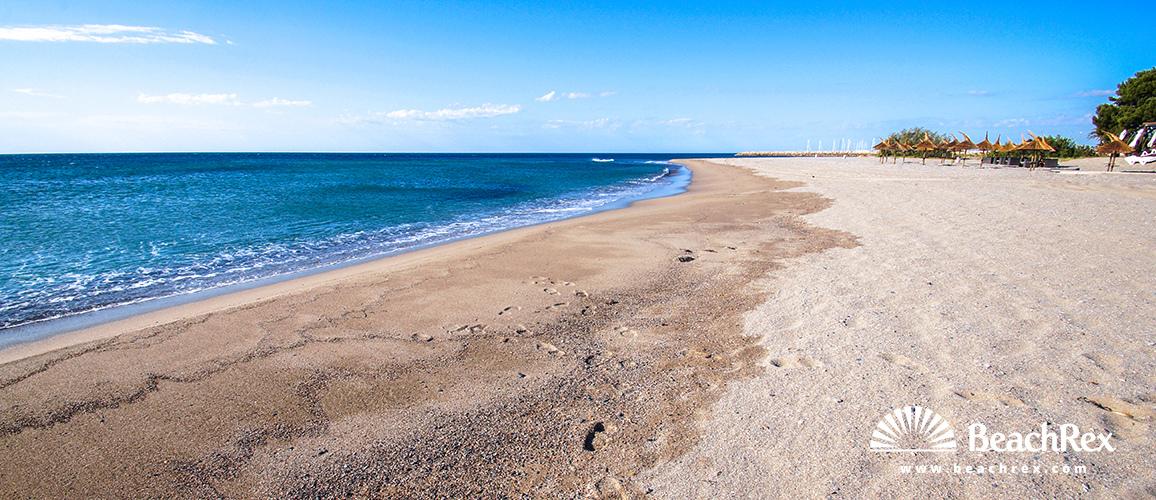 Spain - Camp de Tarragona -  Miami platja - Beach Cristall