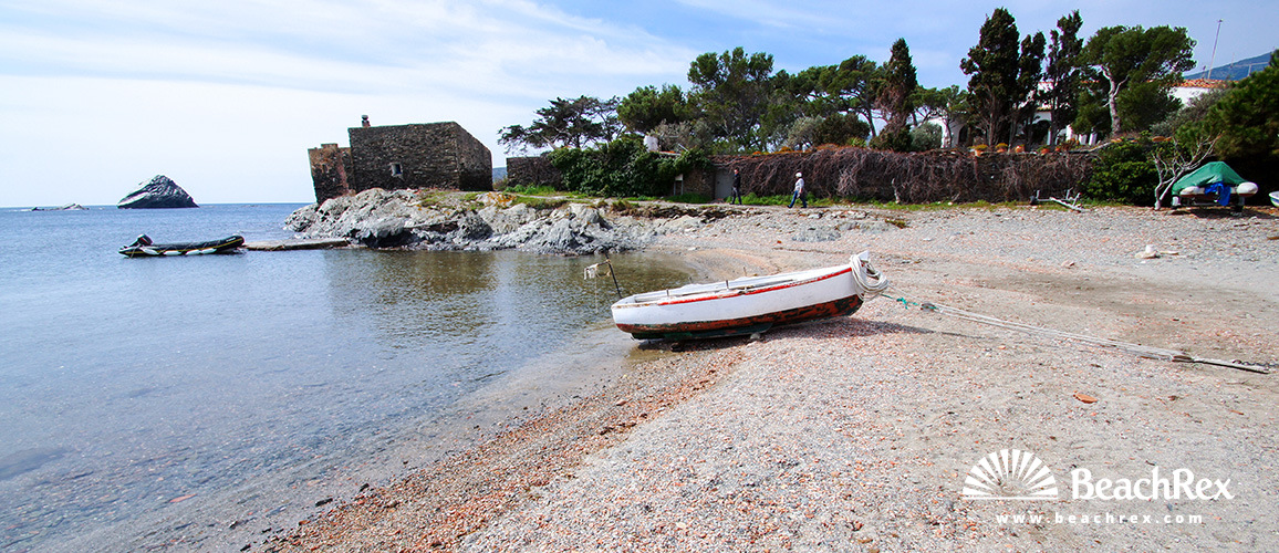 Spain - Comarques gironines -  Cadaqués - Beach de S'Aranella