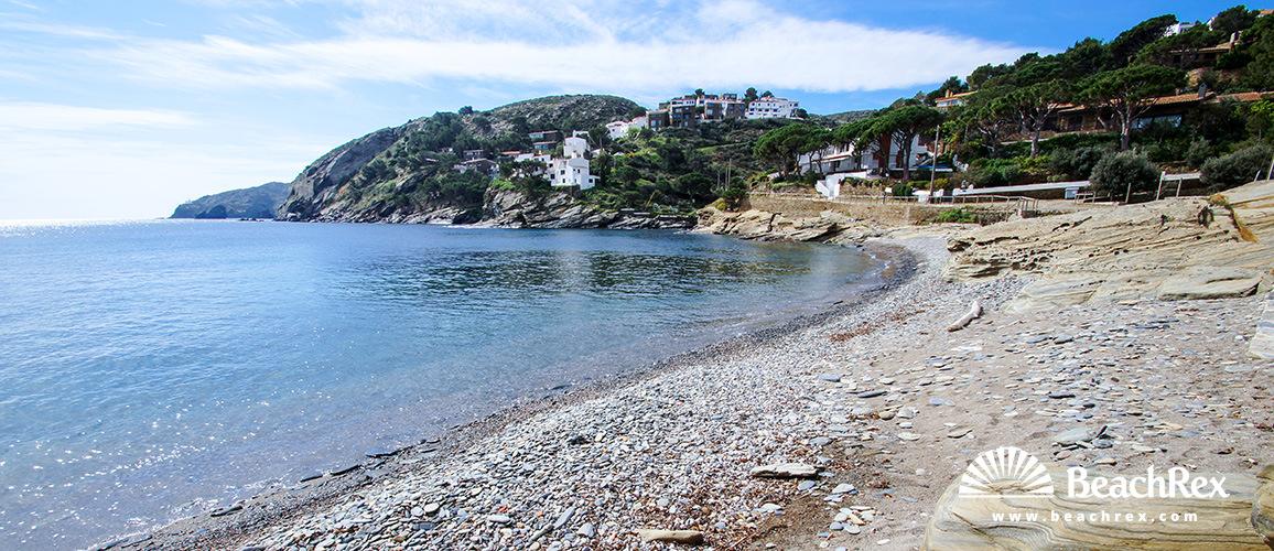 Spain - Comarques gironines -  Cadaqués - Beach sa Conca