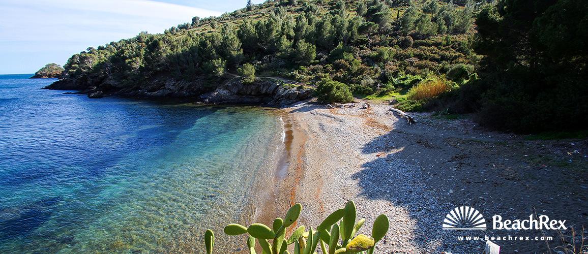 Spain - Comarques gironines -  Roses - Beach Calis