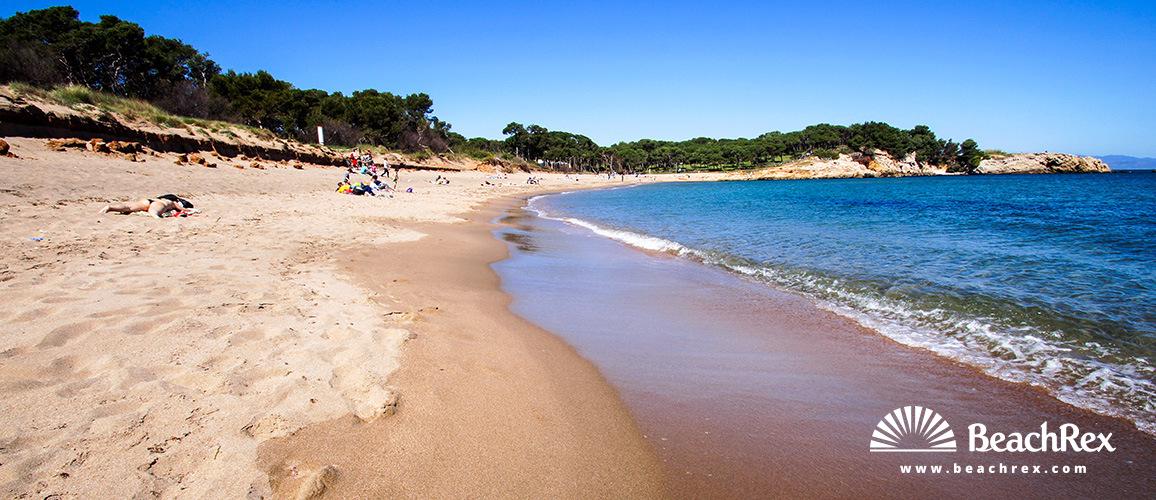 Spain - Comarques gironines -  L'Escala - Beach El Rec del Moli