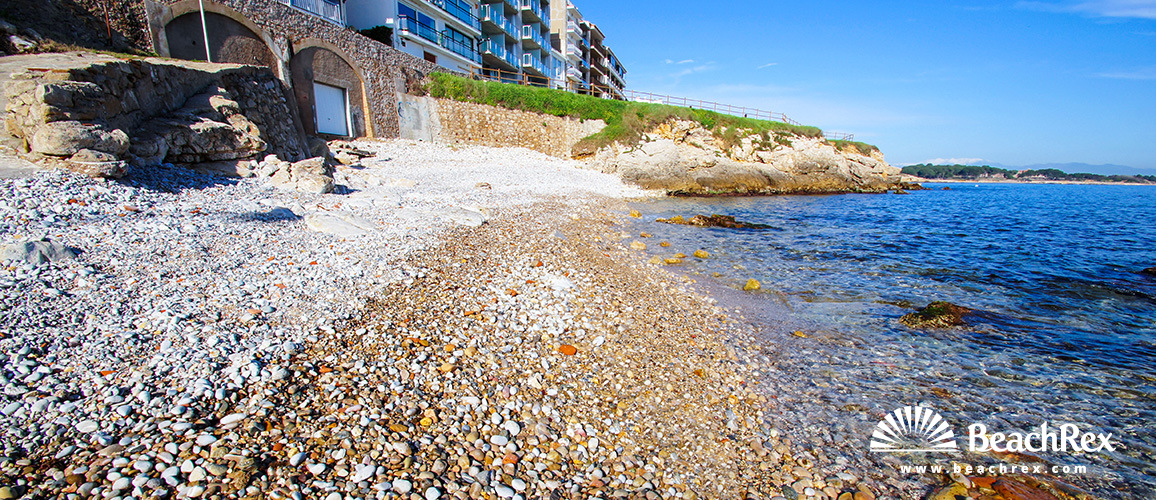 Spain - Comarques gironines -  L'Escala - Beach Mar d'en Manassa