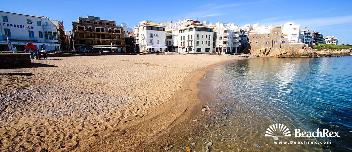 Spain - Comarques gironines -  L'Escala - Beach de les Barques