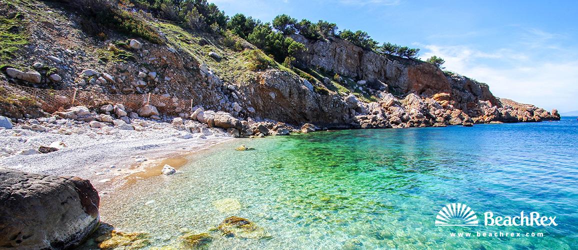 Spain - Comarques gironines -  L'Escala - Beach Illa Mateua