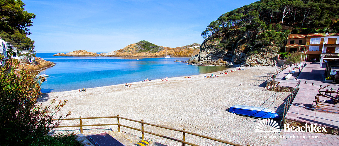Spain - Comarques gironines -  Begur - Beach Sa Tuna