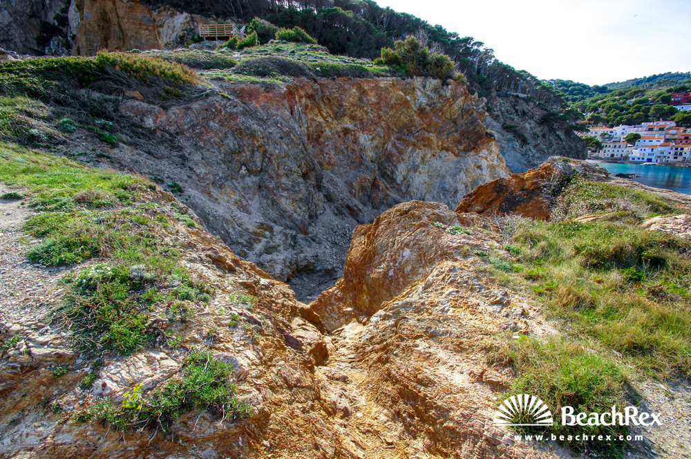 Spain - Comarques gironines -  Begur - Beach des Plon