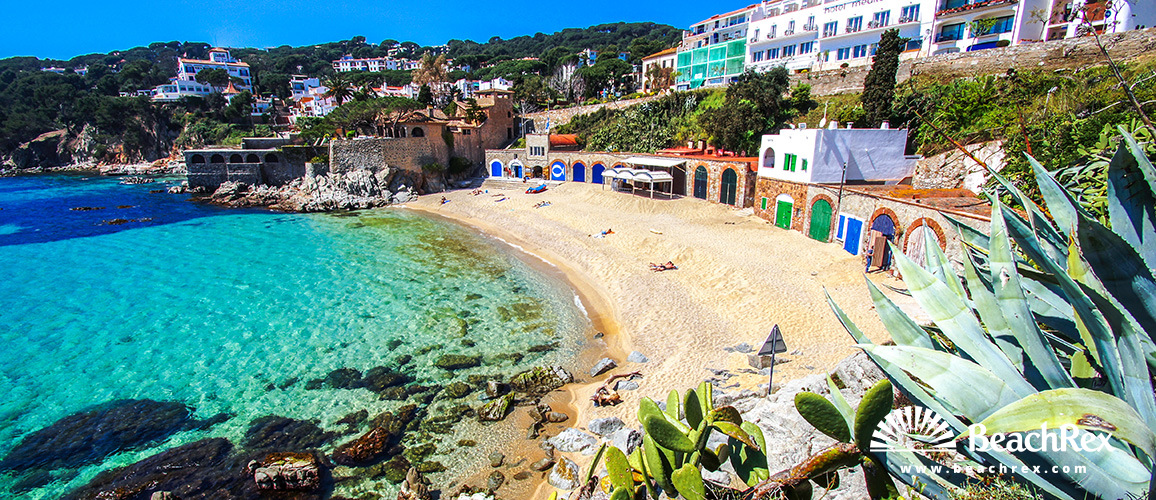 Spain - Comarques gironines -  Palafrugell - Beach La Platgeta