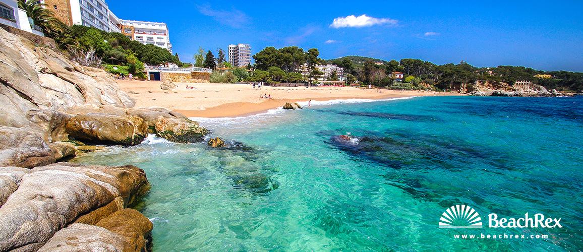 Spain - Comarques gironines -  Castell-Platja d'Aro - Beach En Rovira