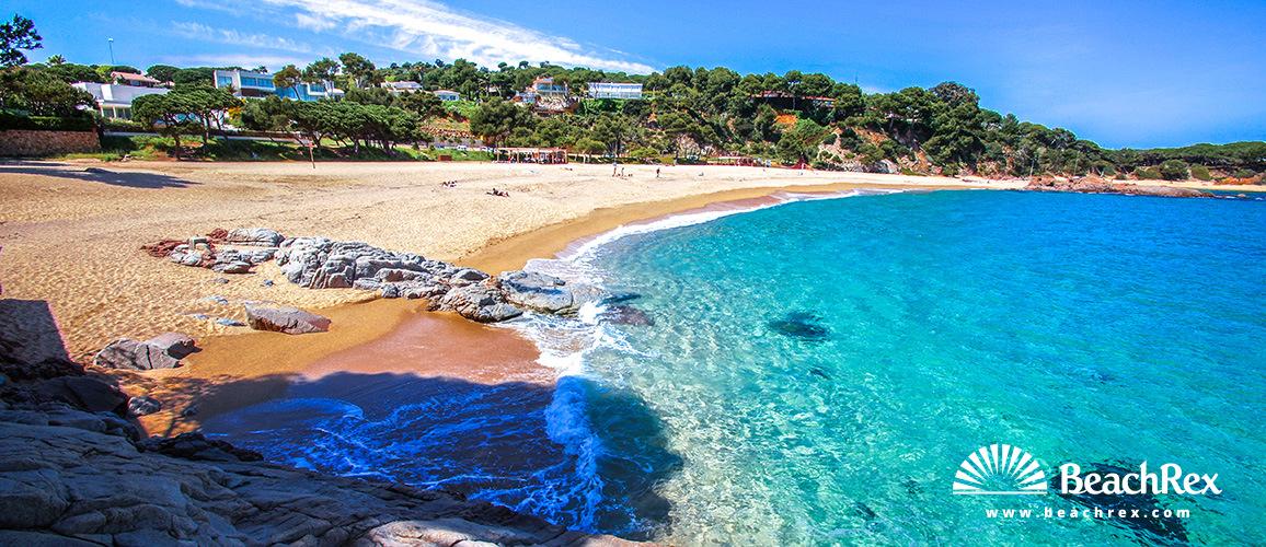 Spain - Comarques gironines -  Castell-Platja d'Aro - Beach Sa Conca