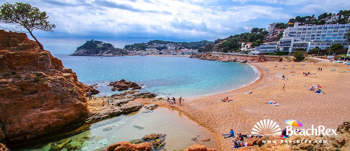 Spain - Comarques gironines -  Tossa de Mar - Beach Mar Menuda