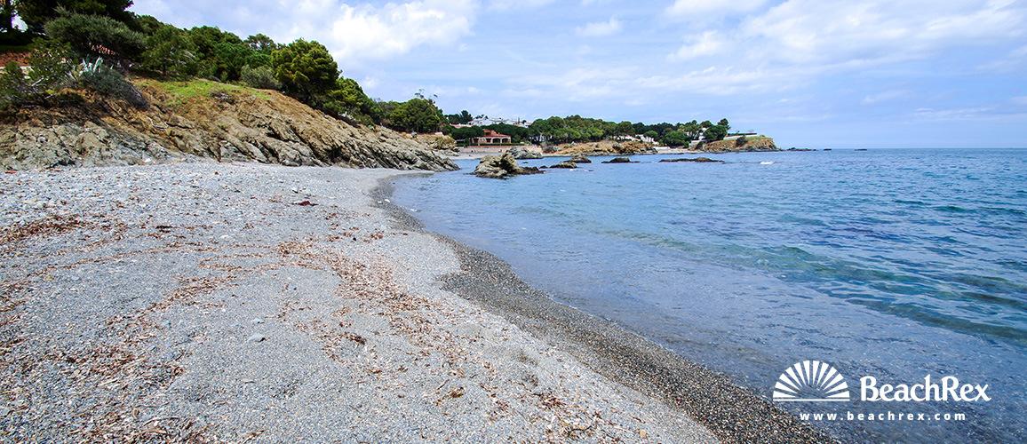 Spain - Comarques gironines -  Llanca - Beach Tonyines