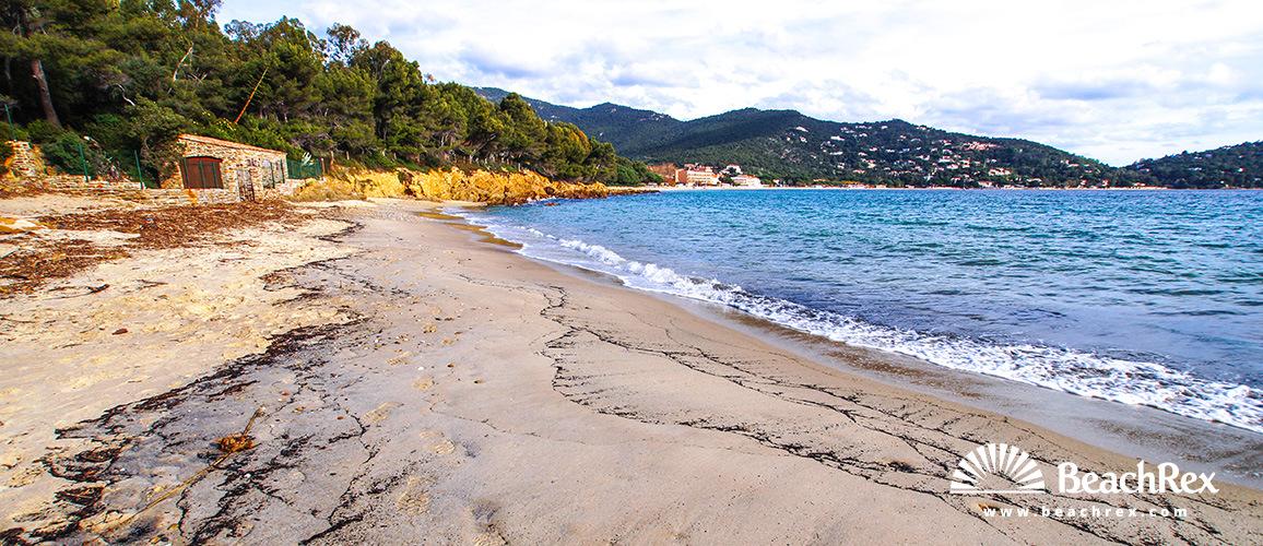Beach du layet Le Lavandou Var France Beachrexcom