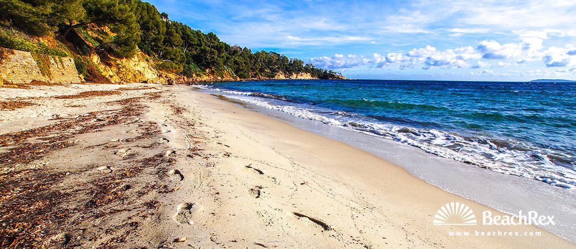 Beach de Jean Blanc Le Lavandou Var France Beachrexcom