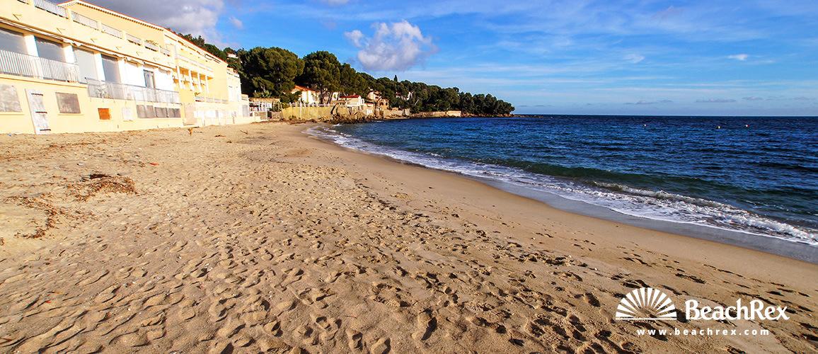 Beach dAiguebelle Le Lavandou Var France Beachrexcom