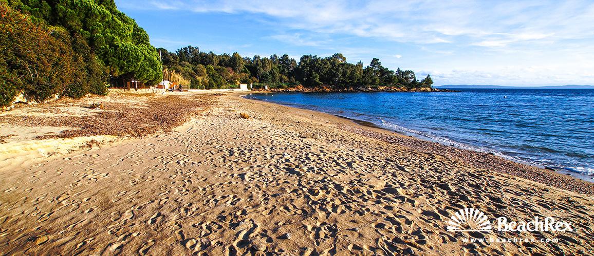 Beach de la Fossette Le Lavandou Var France Beachrexcom