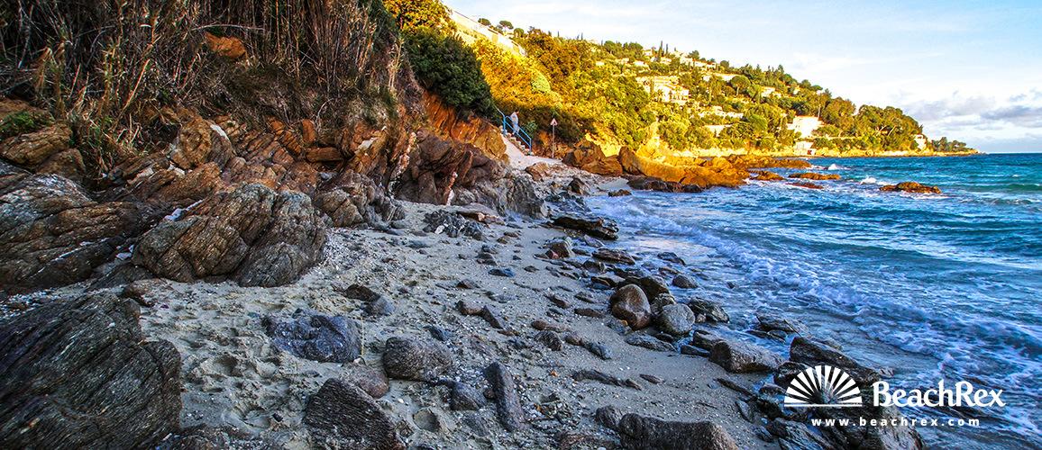 France - Var -  Le Lavandou - Beach Crique Saint Clair