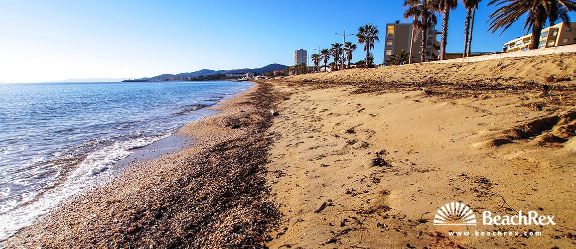 Beach Le Lavandou Le Lavandou Var France Beachrexcom