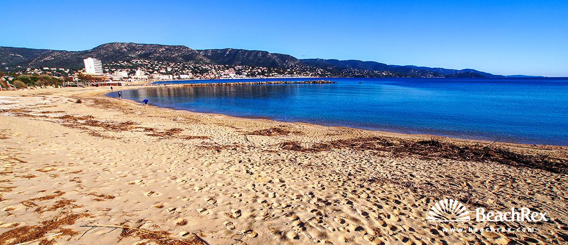 Beach de lAnglade Le Lavandou Var France Beachrexcom