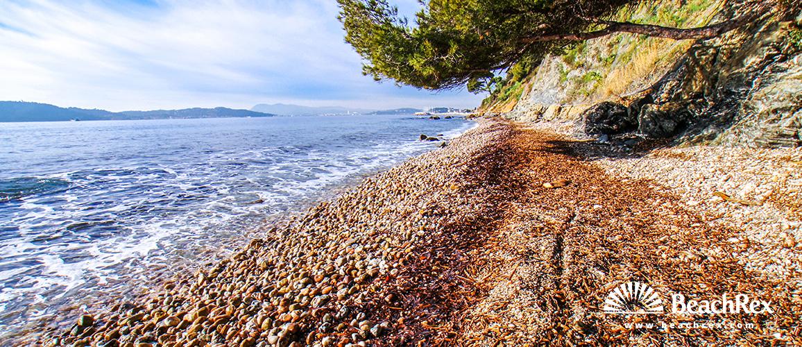 France - Var -  Toulon - Beach de la Calade