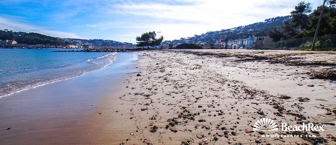 France - Var -  Saint-Mandrier-sur-Mer - Beach de la Vieille