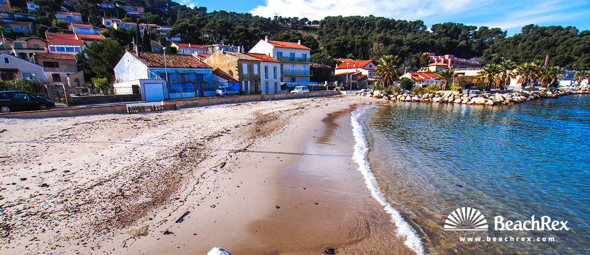 France - Var -  Saint-Mandrier-sur-Mer - Beach du Touring