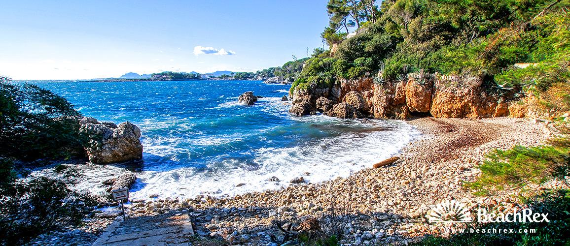 France - AlpesMaritimes -  Antibes - Beach des Milliardiers