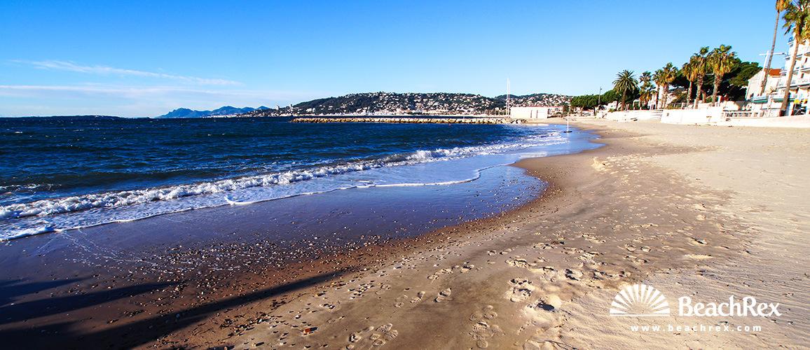 France - AlpesMaritimes -  Antibes - Beach Juan les Pins