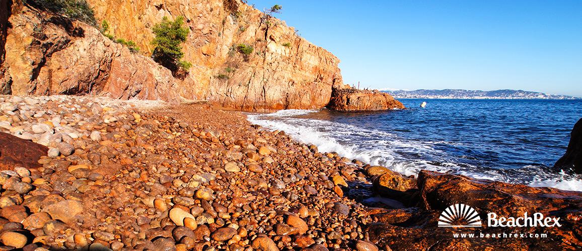 France - AlpesMaritimes -  Théoule-sur-Mer - Beach Ballif