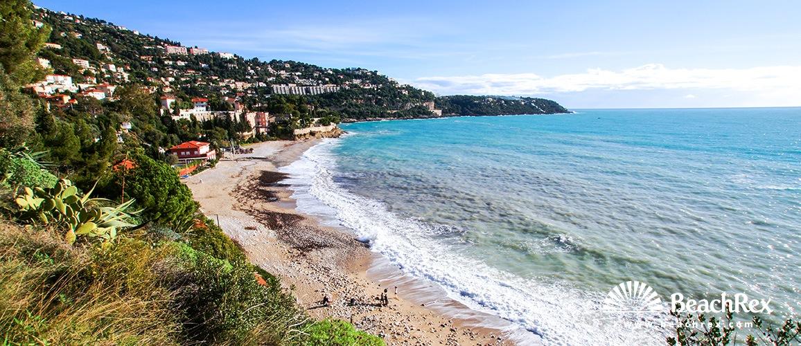 France - AlpesMaritimes -  Roquebrune-Cap-Martin - Beach Golfe Bleu