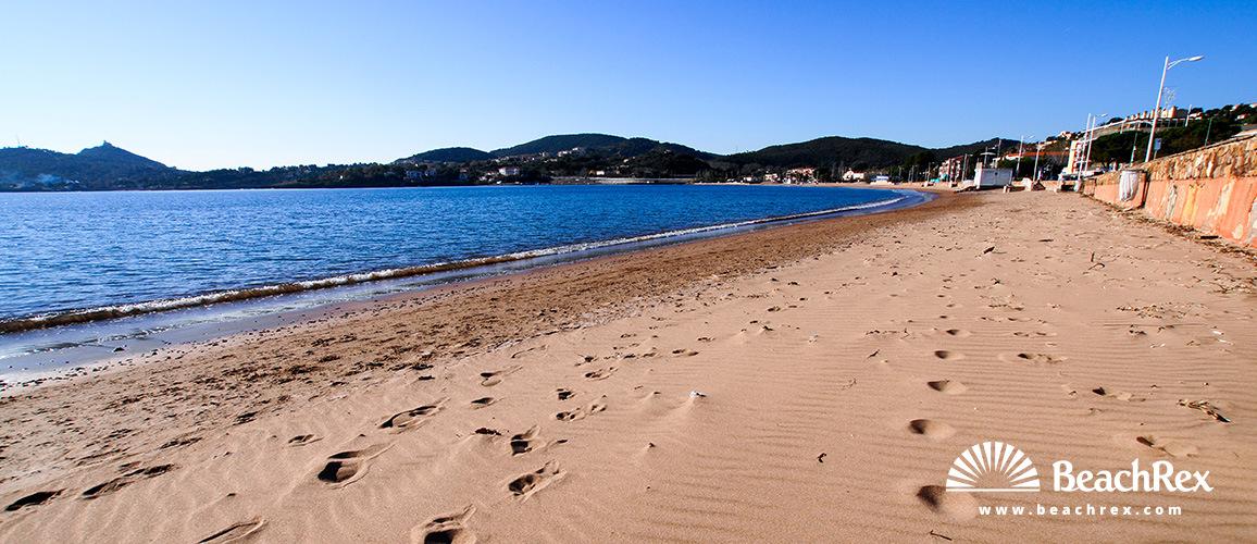 France - Var -  Saint-Raphaël - Beach d'Agay